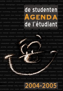 Studentenagenda 2004-2005