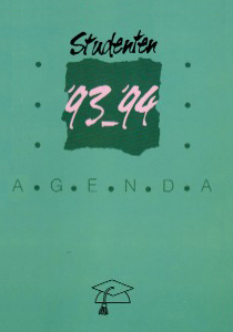 Studentenagende 1993-1994