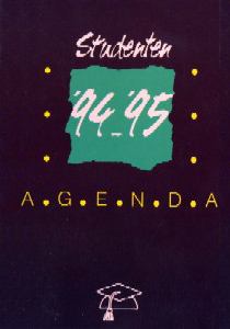 Studentenagende 1994-1995