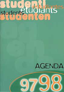 Studentenagende 1997-1998