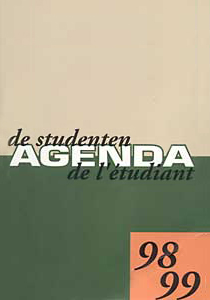 Studentenagende 1998-1999